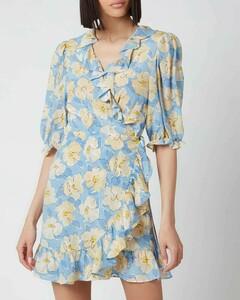 Women's Nina Dress - Azela Bloom - Lilac Yellow