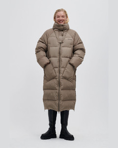 RECYCLED POLYESTER OVERSIZED PUFFER COAT