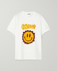 Net Sustain Printed Organic Cotton-jersey T-shirt