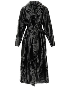 Single Breasted Belted Trench Coat