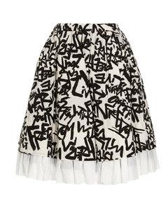 Libby棉质斜纹布风衣