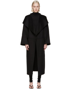黑色Annecy大衣