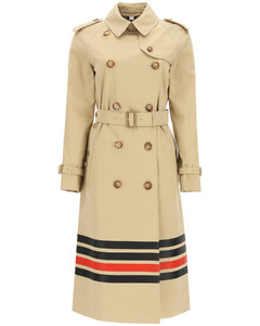 WATERLOO TRENCH COAT WITH STRIPES