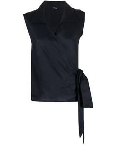 Vienna geometric-pattern crepe mini dress