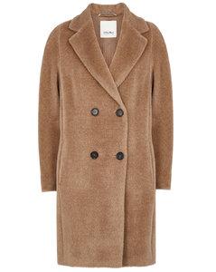Locri camel alpaca-blend coat