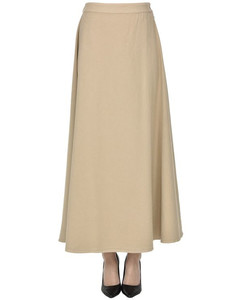 Contrast-panel belted trench coat