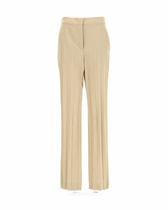 monogram-jacquard wool dress