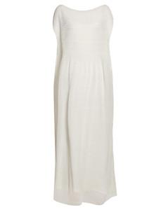 Prado plissécrepe maxi dress
