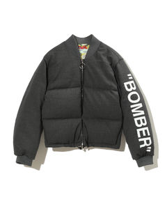 'Bomber' quilted bomber jacket