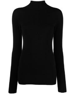 皺折效果傘形連衣裙