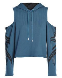 striped pattern wool coat
