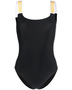 Mock-neck velvet dress