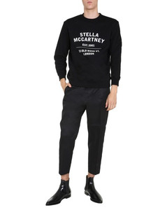 Floral-print denim jacket