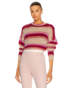 Drussell Sweater in Pink,Cream