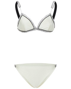 Pipe panelled down jacket