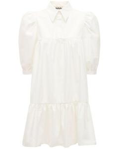Lvr Exclusive Cotton Blend Shirt Dress