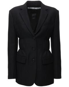 羊毛混纺西服夹克