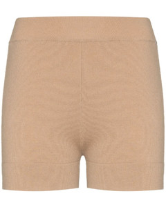 cashmere knitted shorts