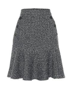 Reed tweed miniskirt