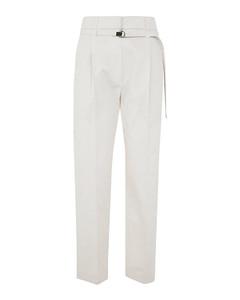 Virginie waist-tie cotton-poplin shirt dress