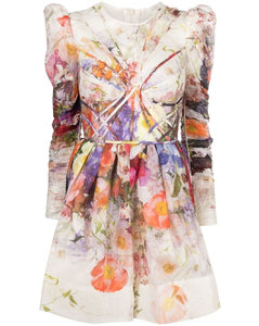 Woman Inola Button-embellished Linen Coat