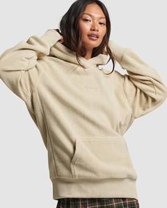 Army green Melton wool-blend coat