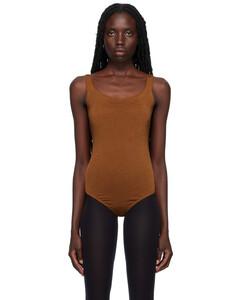 Brown monogram trench coat