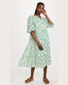 粉色Bi-Material羽绒夹克