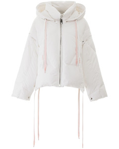 KHRIS PUFFER JACKET WITH REMOVABLE SLEEVES