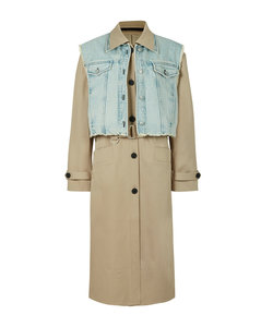 2-In-1 Zadie Trench Coat