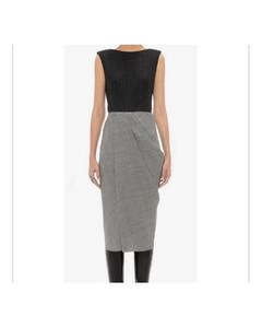 Azurea wool-twill straight-leg trousers