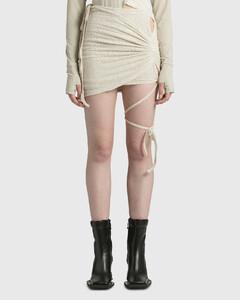 Wrap Shirring Skirt