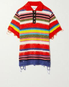 Ivana cashmere-blend cropped vest