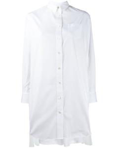 拉链衬衫裙