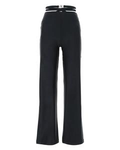 Slate stretch nylon pant