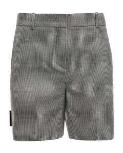 Tailored Wool Blend Shorts