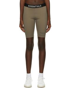 灰褐色Athletic骑行短裤