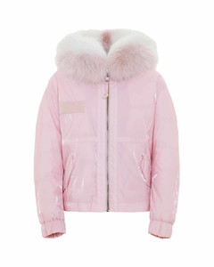 Cropped Parka M51 For Woman With Fox Fur