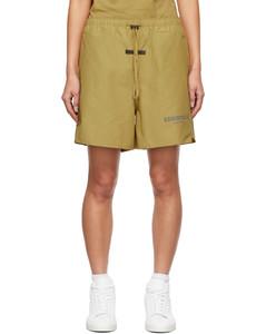 绿色Volley短裤