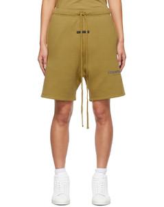 绿色抽绳短裤
