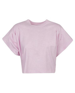 Sequined logo printed T-shirt