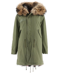 Parkas Mr & Mrs Italy for Women Army Multicolor