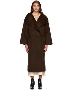 棕色Annecy大衣
