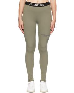 灰色Athletic紧身裤