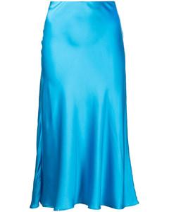 彈力棉質中長半身裙