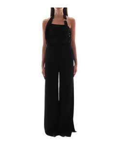 Palmer belted slim-leg leather trousers
