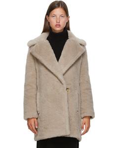 驼色Fiocco大衣