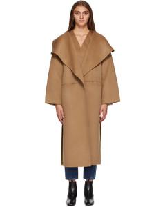 黄褐色Annecy大衣
