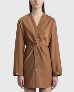Johanna Twist Front Dress
