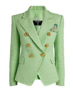 Tweed Double-Breasted Jacket